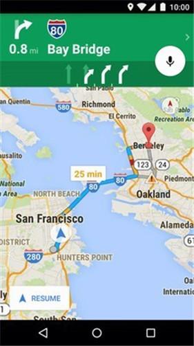 谷歌地图2