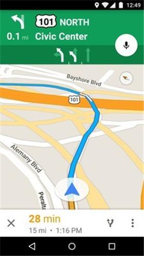 谷歌地图1