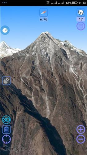 谷歌超清实时卫星地图2