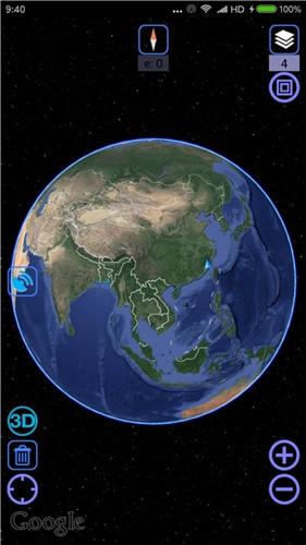 谷歌超清实时卫星地图1