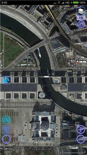 谷歌超清实时卫星地图3