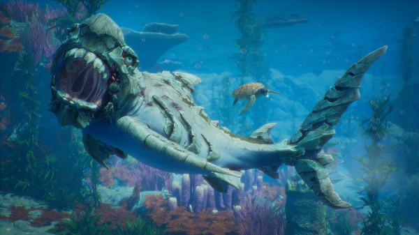 食人鲨绿色版