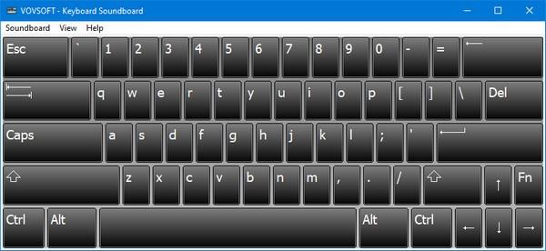 Vovsoft Keyboard Soundboard(键盘声音触发器)软件