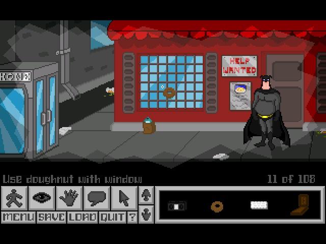胖蝠侠冒险游戏