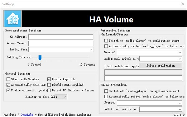 HA Volume(音频控制器)免费版