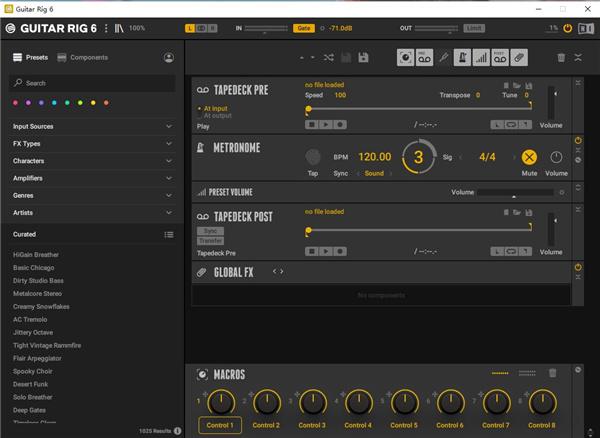 Native Instruments Guitar Rig 6 Pro最新版