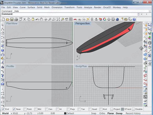 Orca3D(犀牛船坞设计插件)