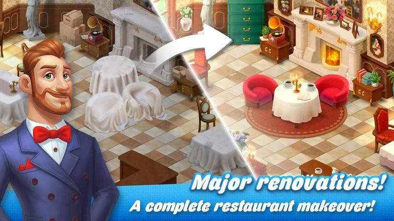 餐厅复兴破解版